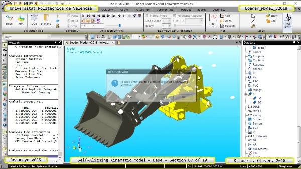 Simulación Dinámica de Cargadora Volvo L70C con Recurdyn V8R5 - 07 de 10