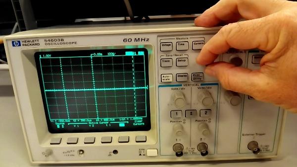 Osciloscopio HP C
