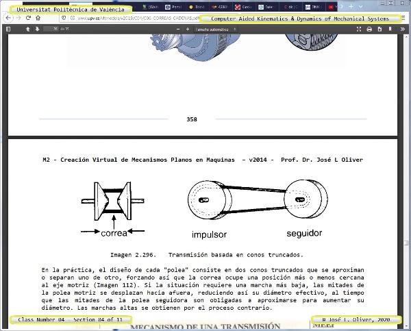 Mecánica y Teoría de Mecanismos ¿ 2020 ¿ MM - Clase 04 ¿ Tramo 04 de 11
