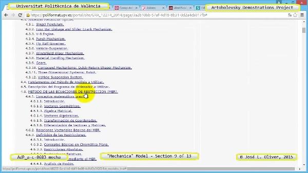 Simulación Mecanismo a-c-0683 con Mechanica - 09 de 13