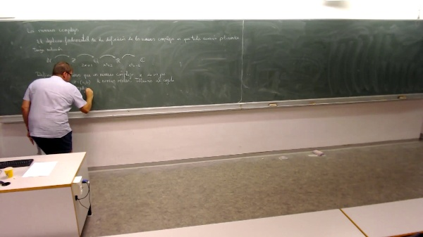 Matemáticas I-1-01-Definición de números complejos
