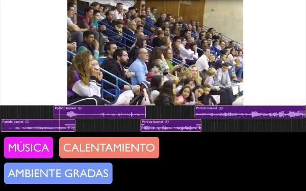 Screenflow del paisaje sonoro realizado por el grupo 5