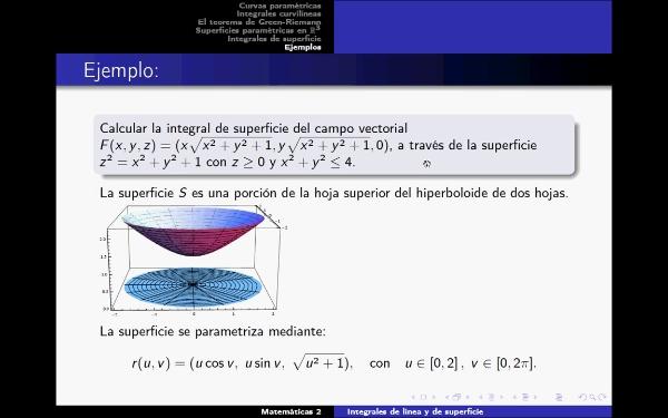 Problema de cálculo de integral de superficie de campo vectorial