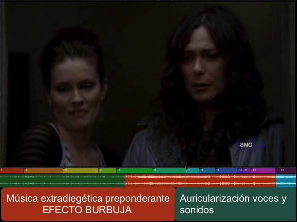 Análisis efecto burbuja en The Killing 1x05