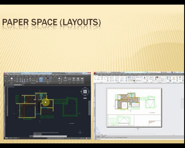 Layouts in Paper space (AutoCAD)