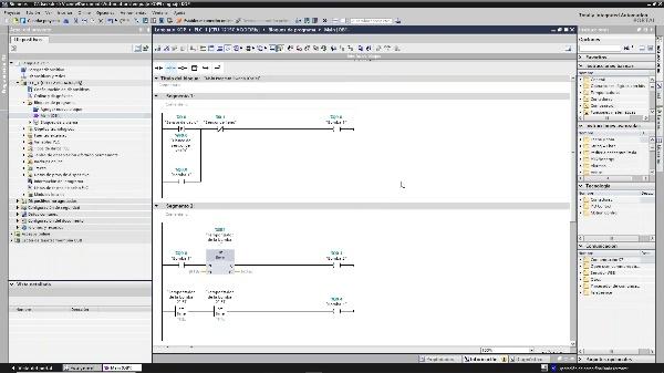 Simulación de automatismos con PLCSim V15 1