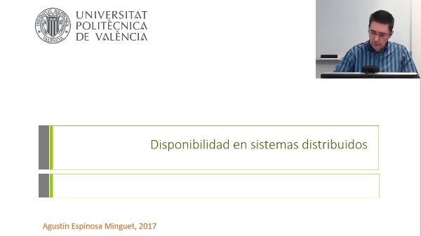 Disponibilidad en sistemas distribuidos