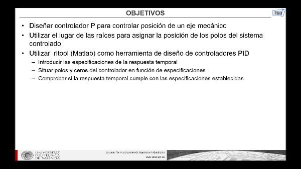 RLTOOL: diseño de controlador P