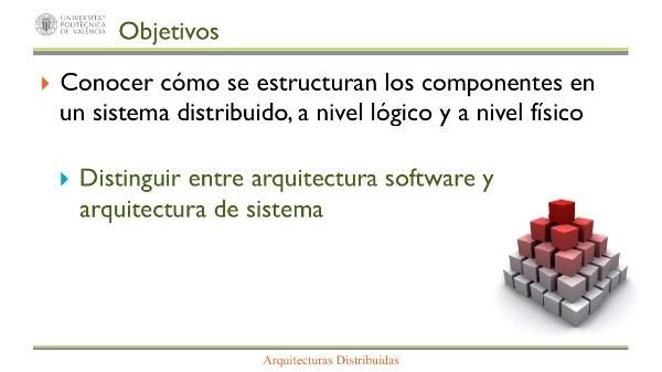 ARQUITECTURAS DISTRIBUIDAS