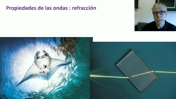 Propiedades de las ondas: refracción