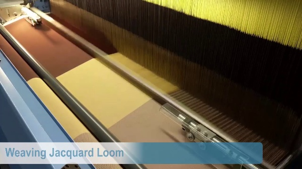 Loom components and weaving process