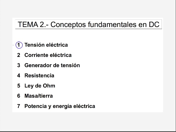 2.2.- Corriente eléctrica