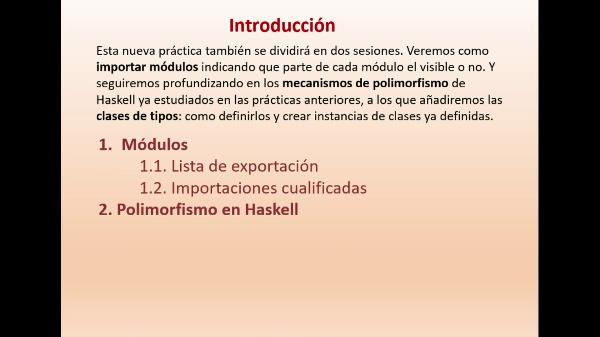 Practica 6 LTP: Módulos y Polimorfismo en Haskell (parte I)