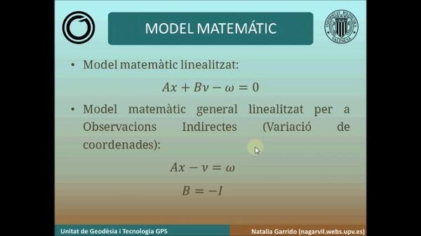 Resolució de Minims quadrats amb Matlab