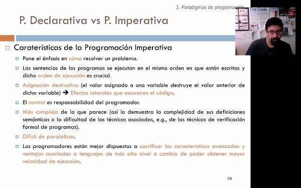 Tema 1. Programación declarativa vs programación imperativa