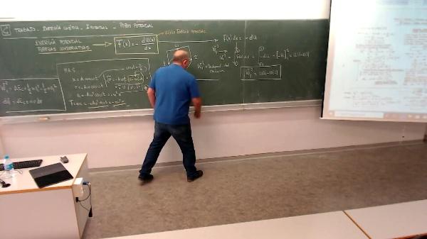 Física 1. Lección 2. Teorema de conservación de la energía en Fuerzas conservativas