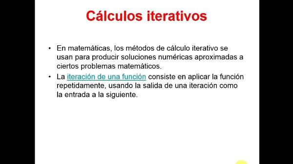 Cálculos iterativos con Excel. Método de Newton
