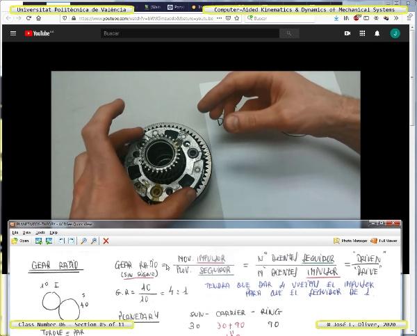Mecánica y Teoría de Mecanismos ¿ 2020 ¿ MM - Clase 06 ¿ Tramo 05 de 11