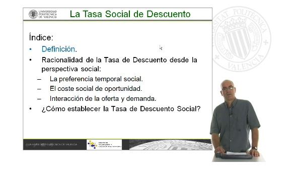 B04. La Tasa de Descuento Social. Descripción