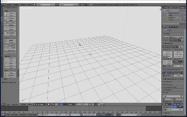 Primitivas básicas 3D en Blender 3D