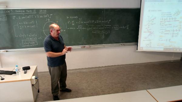 Física 1. Lección 3. Movimiento circular uniforme, velocidad