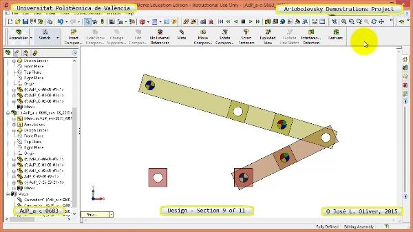 Creación Virtual Mecanismo a-c-0683 con Solidworks - 09 de 11