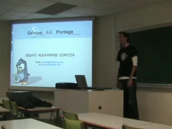 Seminario Gentoo ( 21 diciembre 2006 ) - PoLinuX