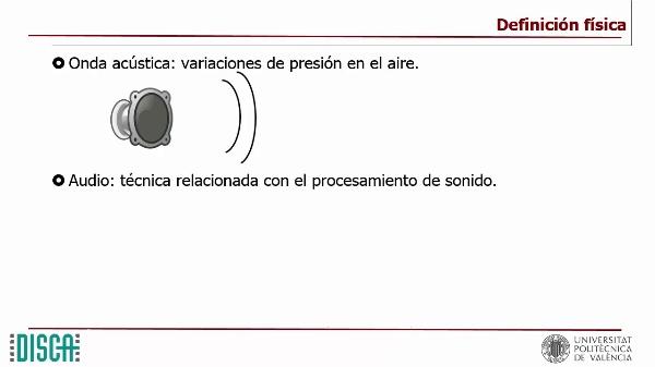 Captura de señales de audio y preparación para su compresión
