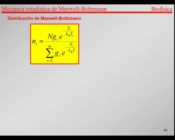 6.-Física Estadística T46-T50- Maxwell Boltzmann Monte Carlo