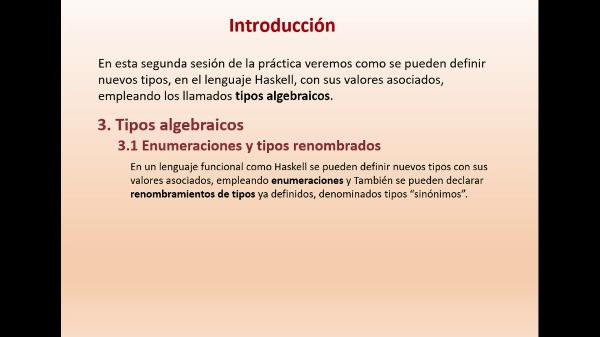 Practica 5 LTP: Listas y Tipos algebraicos en Haskell (parte II)