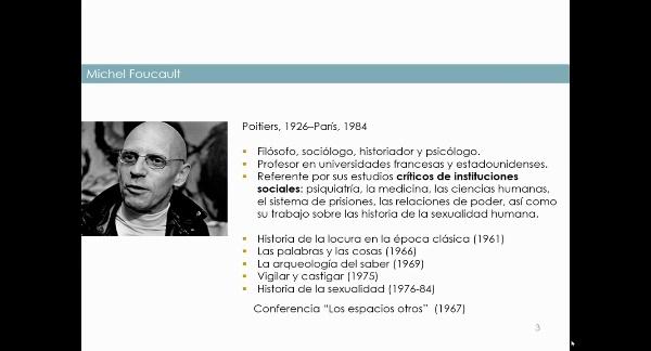 Lugares y relaciones. Michel Foucault y la Heterotopía