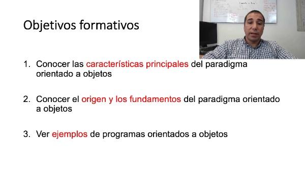 El paradigma de programación orientado a objetos