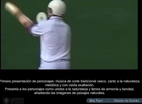 Música en documentales: La pelota vasca