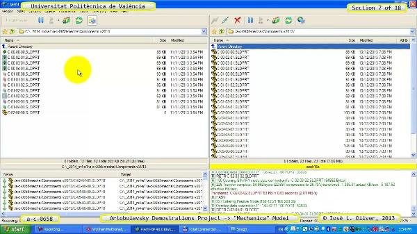 Simulación Mecanismo a_c_0658 con Mechanica - 07 de 18