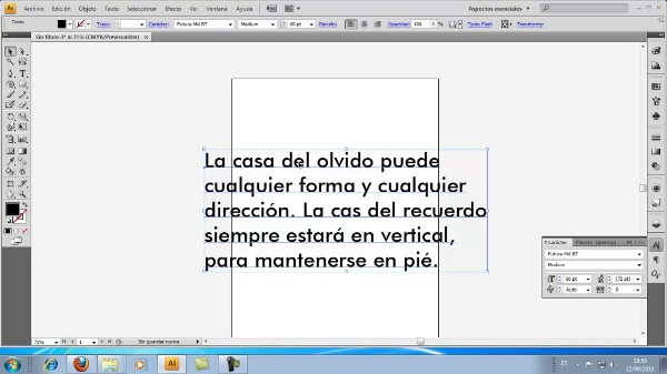 Illustrator CS4. Texto3