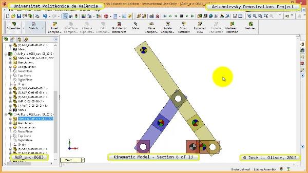 Simulación Mecanismo a-c-0683 con Cosmos Motion - 06 de 13