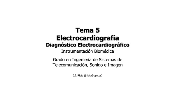 IBM-T5-09 - Electrocardiografía - Diagnóstico Electrocardiográfico