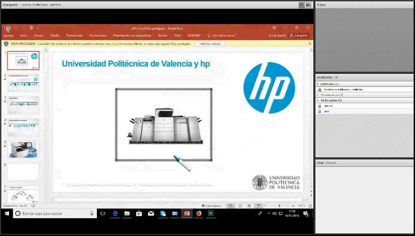 Taller Impresoras HP Enterprise