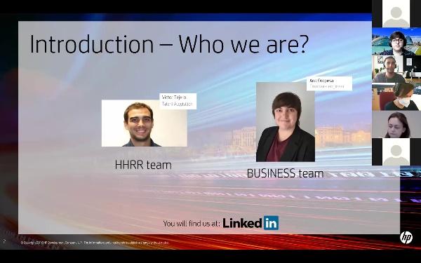 U-CONNECT. Webinar HP 2021.