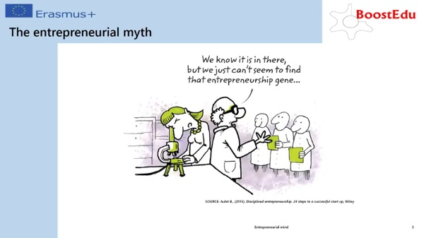 Entrepreneurial mind II