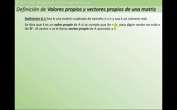 MATE1-6-01a Valor Vector Propio def