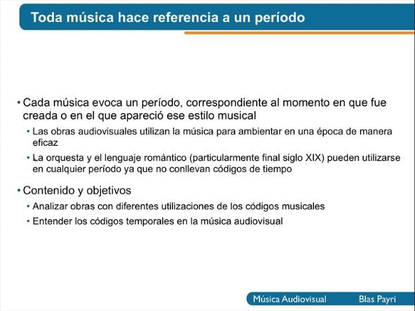 Códigos de época en la música (voz)