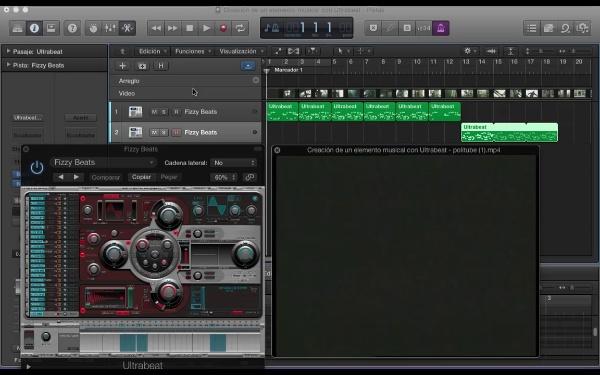 Creación de un elemento musical con Ultrabeat