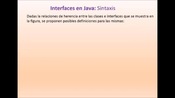 Práctica 3 LTP: Interfaces (Java)