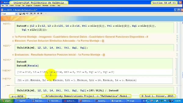 Solución Cinemática Simbólica a_c_0658 con Mathematica -B- 10 de 13