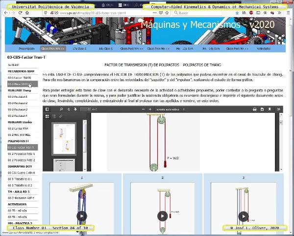 Mecánica y Teoría de Mecanismos ¿ 2020 ¿ MM - Clase 03 ¿ Tramo 04 de 11