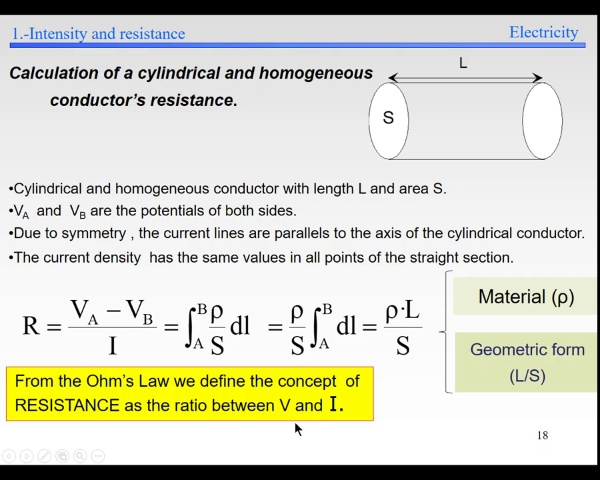 Elec-3-Electrokinetics-S18-Homogeneous conductor