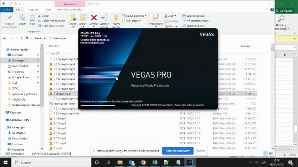 Limpiar dudas del audio de un vídeo con Vegas Studio