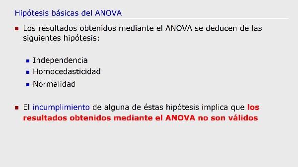UT5T4 Generalización ANOVA Hipótesis