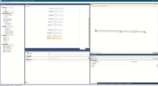Uso de variables en Subassembly Composer